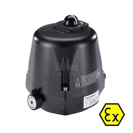 Valpes Explosion Proof ATEX Electric Actuator 25Nm - 300Nm