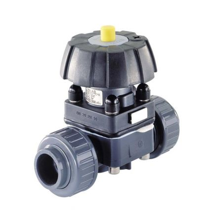 Burkert Type 3232 Manual Plastic Diaphragm Valve