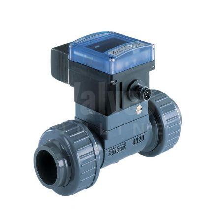 Burkert Type 8032 PVC Flowmeter and Transmitter