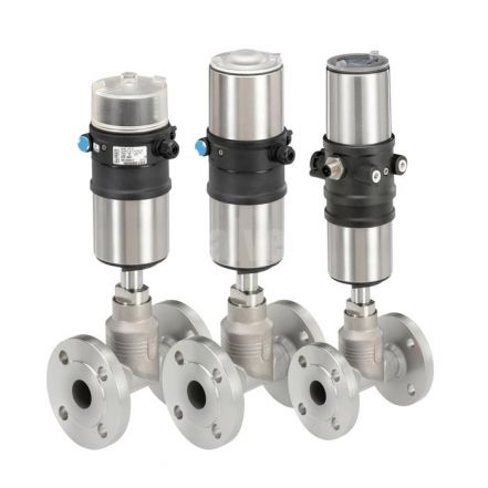 Burkert Type 8801 ELEMENT Globe Valve System for Steam and Gas