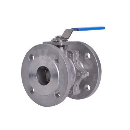 VOLT Stainless Steel Ball Valve Flanged ANSI 150
