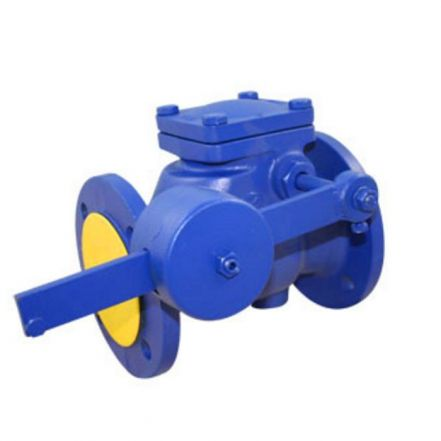 Cast Iron Swing Check Valve Flanged PN16 Lever + Weight