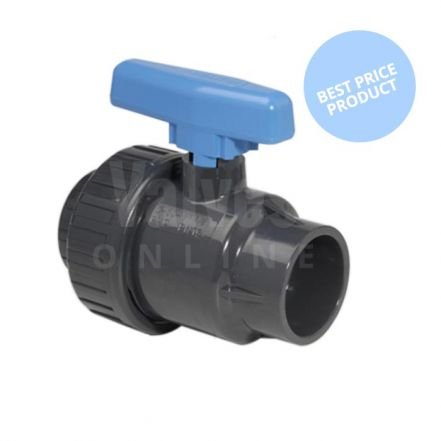 PVC-U Economy Single Union Ball Valve