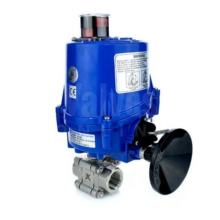 Electric Actuated Series 88 Heavy Duty Ball Valve