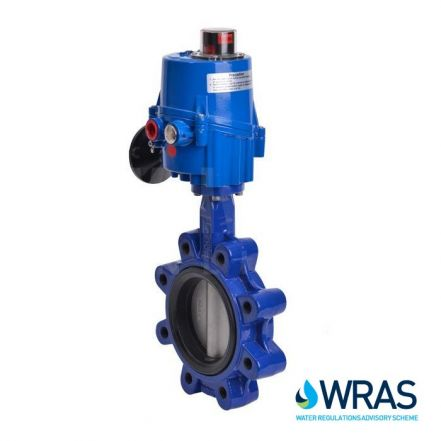 Electric Actuated WRAS Approved Lugged PN16 Butterfly Valve
