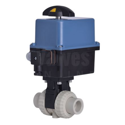 Electric Actuated Extreme PP-H Ball Valve