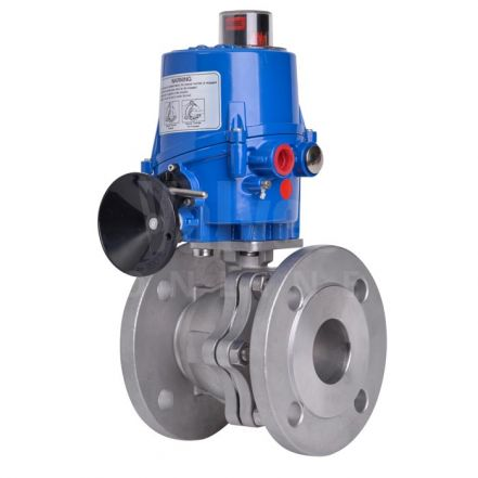 Electric Actuated Stainless Steel ANSI 300 Ball Valve – Mars Series 90D