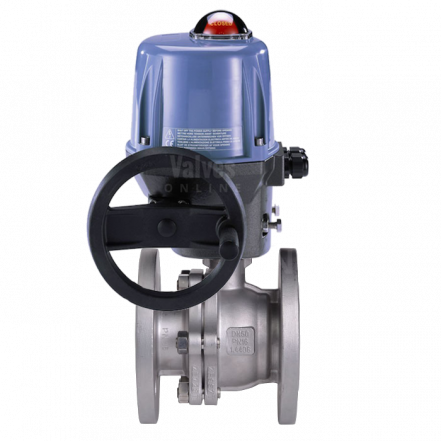 Electrically Actuated Stainless Steel PN16 Ball Valve