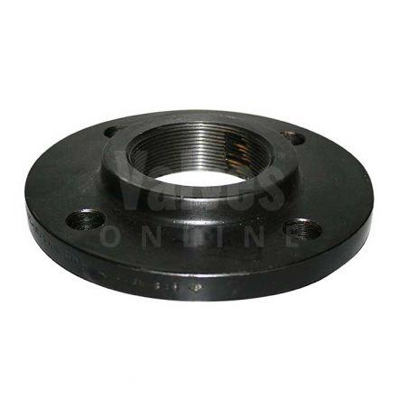 Forged Steel BSPP Flange - PN16 - 16/4 - Black