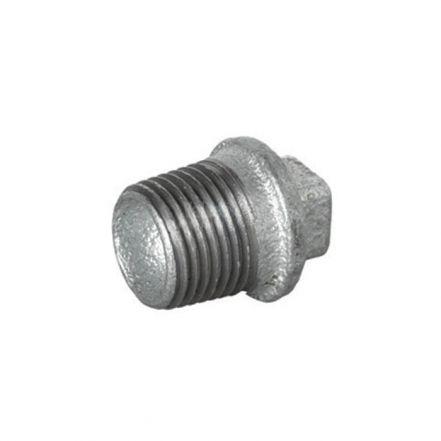 Galvanised Malleable Iron Male Blanking Plug