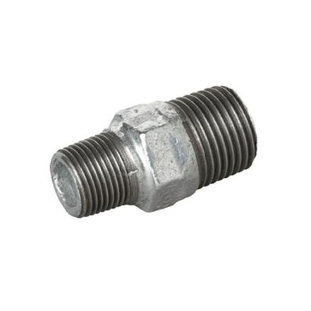 Galvanised Malleable Iron Male Hex Reducing Nipple