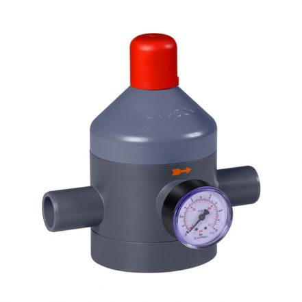 GEMU N082 PVC-U Pressure Reducing Valve (DN65-DN100)