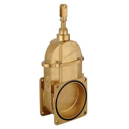 Large Capacity Brass Vacuum Tanker Gate Valve