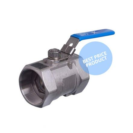 1 Piece Stainless Steel Economy Ball Valve