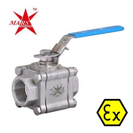 Mars Ball Valve Series 83 Fire Safe Anti Static Stainless Steel