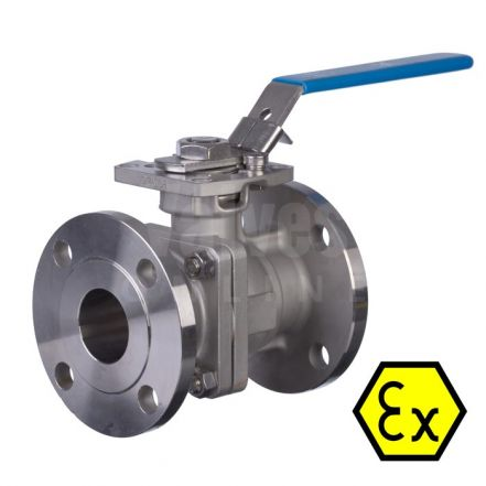 Mars Ball Valve Series 90D Fire Safe Anti Static Flanged PN16