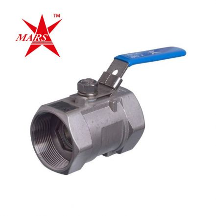 Mars Series 10-10 1 Piece Stainless Steel Ball Valve