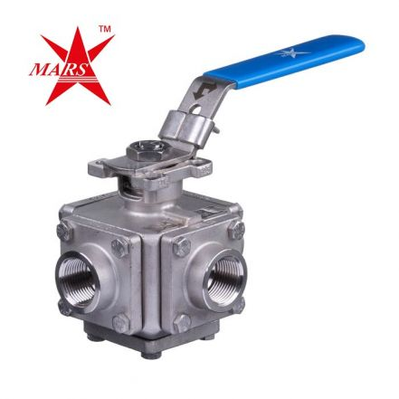 Mars Ball Valve Series 33 3 Way Full Bore Direct Mount
