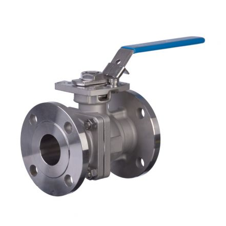 Mars Ball Valve Series 90D Flanged PN40 Direct Mount