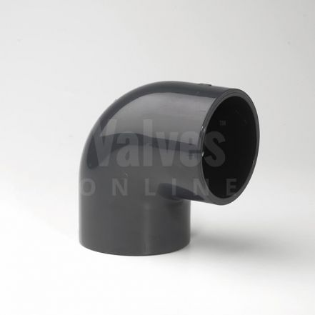 PVC 90° Imperial Inch Solvent Elbow