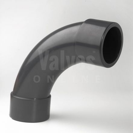 PVC 90° Imperial Inch Solvent Short Radius Bend