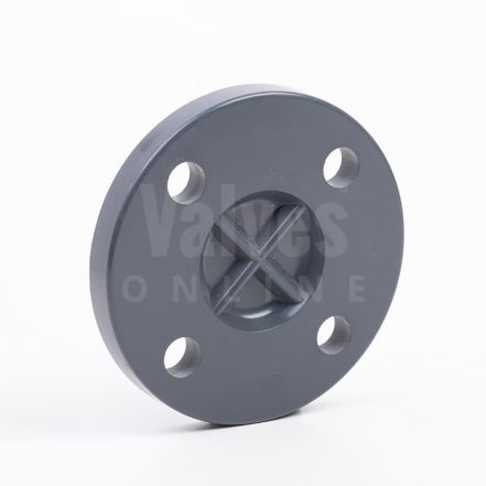 PVC Imperial Inch Solvent Blank Flange PN10/16