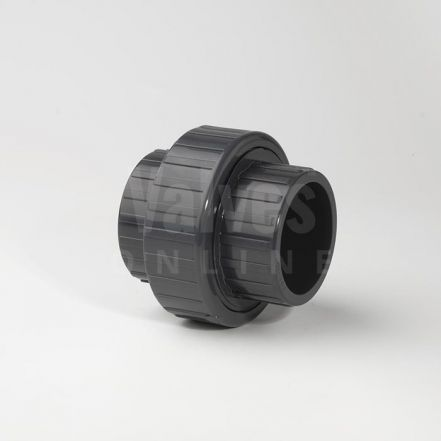 PVC Metric Solvent Union