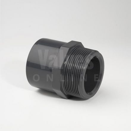 PVC Metric x Male Threaded Adaptor