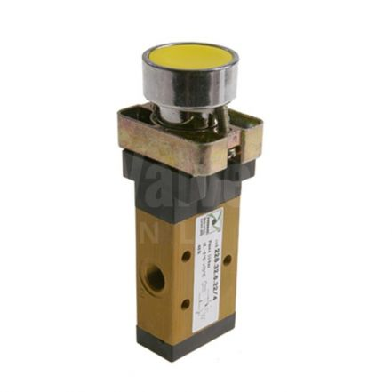 Series 228 Push Button Pneumatic Valve 3/2 & 5/2 - 1/8""