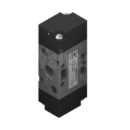 """Series T224 Mechanical Pneumatic Valve 3/2 & 5/2 - 1/4"""""""