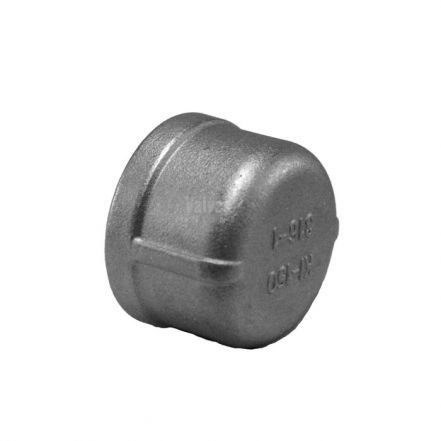 Stainless Steel Female Round End Cap