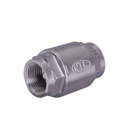 Stainless Steel Spring Check Valve High Pressure Screwed BSP
