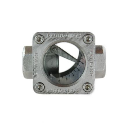 Stainless Steel 'Style F' Flap Type Flow Indicator
