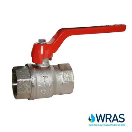 Standard Pattern Brass Ball Valve - WRAS Approved