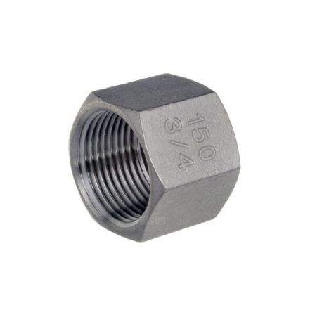 Stainless Steel Male Hex End Cap
