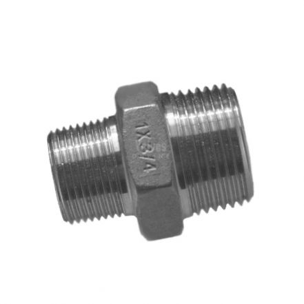 Stainless Steel Reducing Hex Nipple
