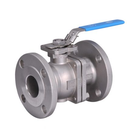 Direct Mount ANSI 150 Flanged Stainless Steel Ball Valve