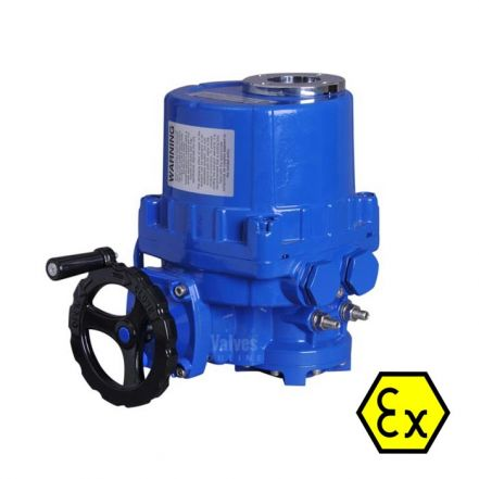 Explosion Proof Electric Actuator 80Nm - 500Nm