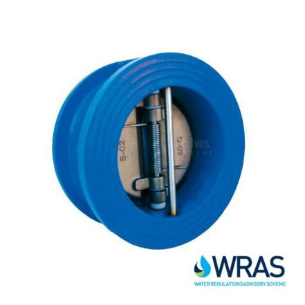 Cast Iron Dual Plate Check Valve Wafer Pattern