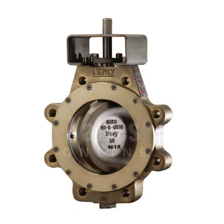 Bray Butterfly Valve Series 41 Double Offset Lugged Ali Bronze ANSI 150
