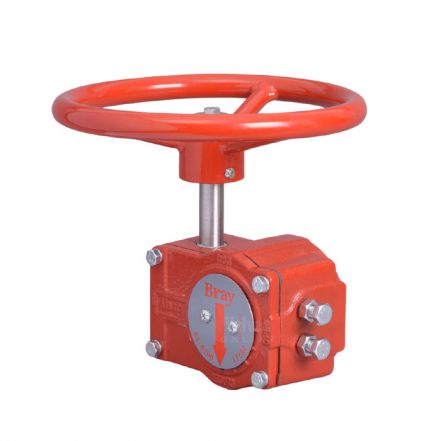 Bray Type S04 Gearbox for Butterfly Valves