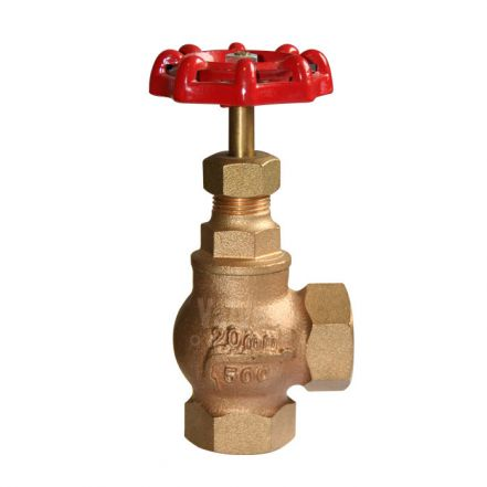 Bronze Globe Valve PN25 Angle Pattern Screwed BSPP