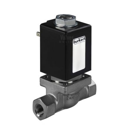 Burkert Type 0255 Stainless Steel Solenoid Valve