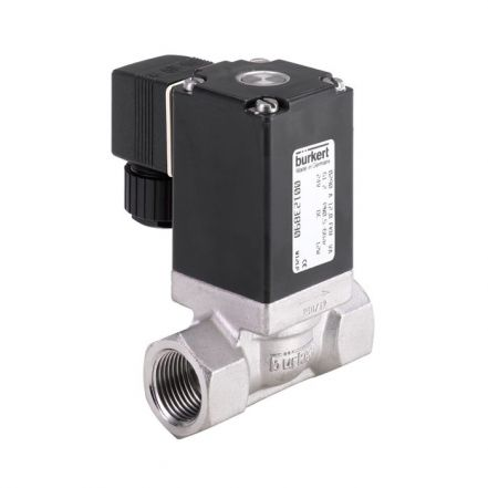 Burkert Type 0290 Stainless Steel Solenoid Valve