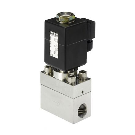 Burkert Type 2400 Stainless Steel Solenoid Valve