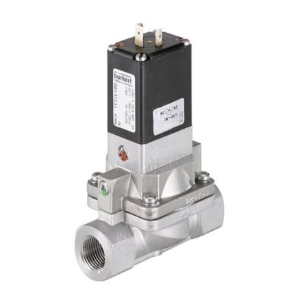 Burkert Type 5282 Stainless Steel Solenoid Valve