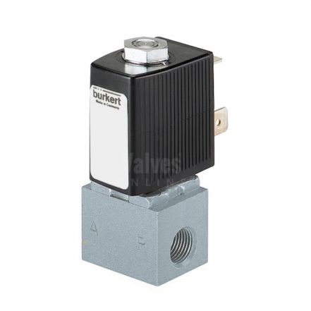Burkert Type 6011 Stainless Steel Solenoid Valve