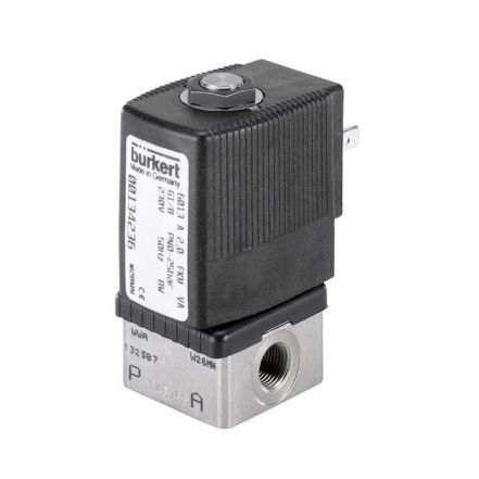 Burkert Type 6013 Stainless Steel Solenoid Valve