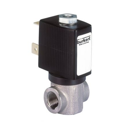 Burkert Type 6027 Stainless Steel Solenoid Valve