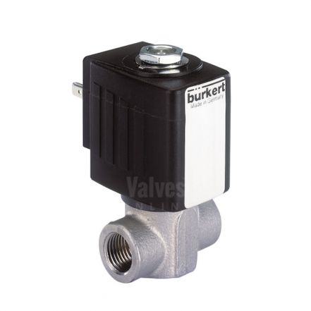 Burkert Type 6240 Stainless Steel Solenoid Valve